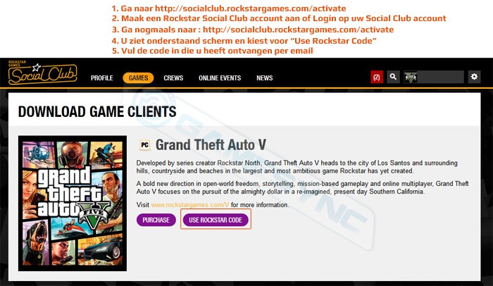GTA V/Grand theft Auto 5 Download Instructies